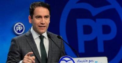El secretario general del PP, Teodoro García Egea/EFE
