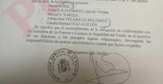 En mayo de 2016, el comisario José Villarejo llevó hasta la 'brigada política' que dirigía el número dos de la Policía, Eugenio Pino, a varios ex chavistas buscados por EEUU y contra los que ahora se querellan los diputados de la Asamblea Nacional,para qu
