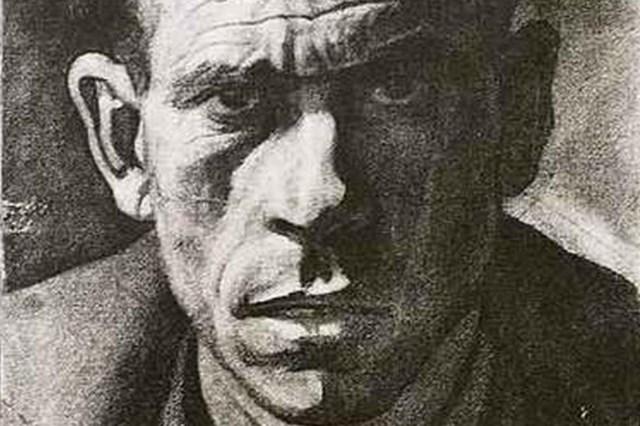 Retrato de Manuel Estévez Gómez, preso republicano condenado a muerte por el franquismo.