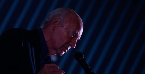 El escritor uruguayo Eduardo Galeano, en su intervención en la inauguración de la II Bienal del Libro de Brasilia. EFE