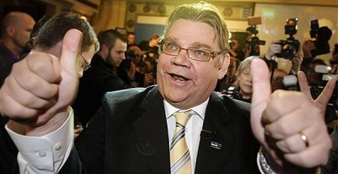 El líder de la formación de ultraderecha Auténticos Finlandeses, en una imagen de archivo. EFE