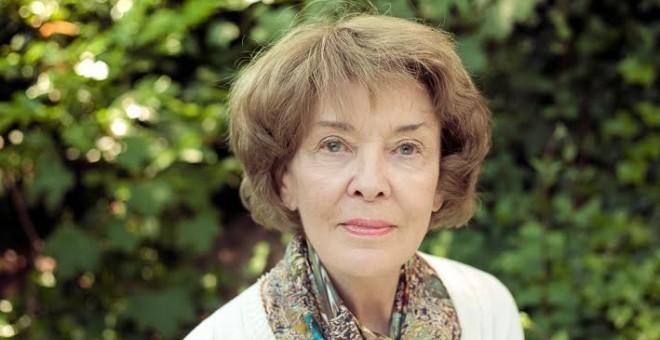 Susan George, presidenta de honor de ATTAC Francia y del Transnational Institute de Amsterdam.