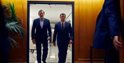 Mariano Rajoy y Albert Rivera, en una foto de archivo. REUTERS