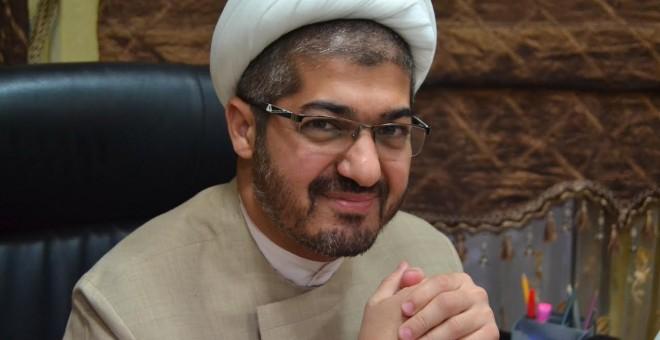 El politólogo e influyente clérigo chií Sheikh Sadek Al Nabolsi.