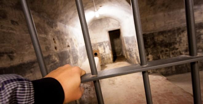 Una de las estancias del búnker de El Capricho.-  CHRISTIAN GONZÁLEZ