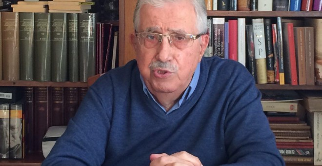 L'historiador Josep Fontana. JORGE SÁNCHEZ