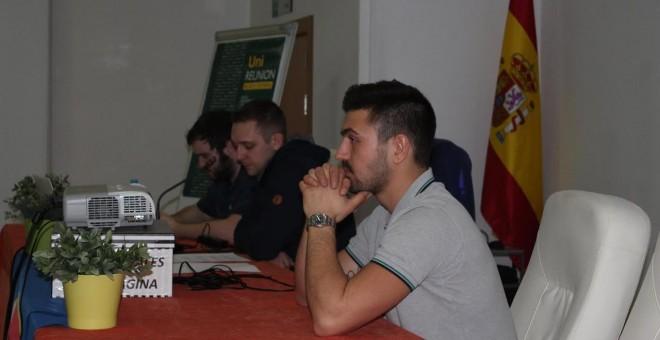 Acto en la sede de la Asociación Cruor Iberia, de Jaén