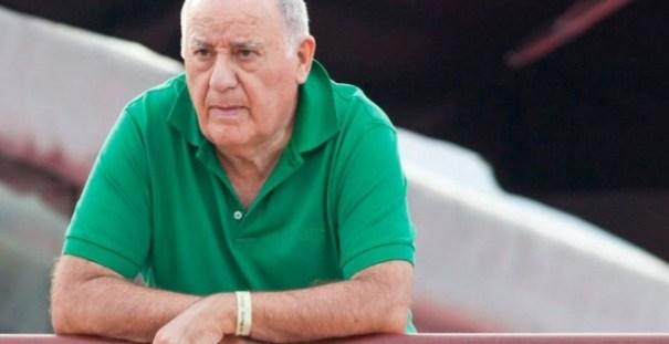 El dueño de Inditex, Amancio Ortega, en una imagen de archivo. EFE
