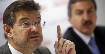 El ministro de Justicia, Rafael Catalá, en una imagen de archivo. REUTERS
