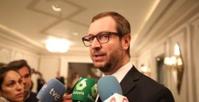 Vicesecretario del Partido Popular del País Vasco, Javier Maroto / EUROPA PRESS