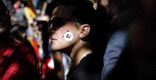 Protesta frente a la conselleria d'Economia. XAVI HERRERO