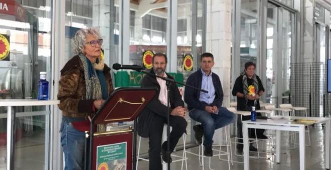 Encuentro de ecologistas en Acción por el desmantelamiento de El Cabril.