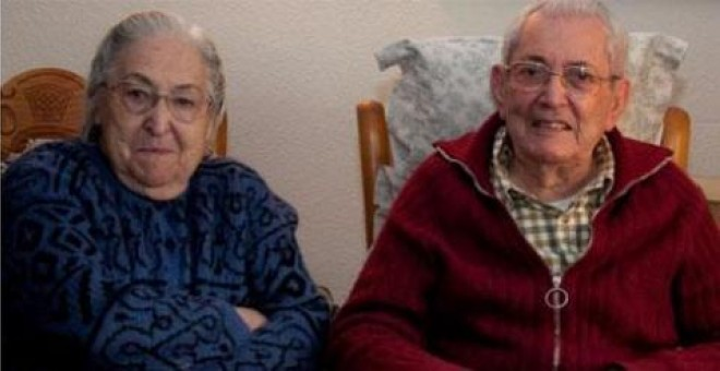 Josefina Samper y Marcelino Camacho