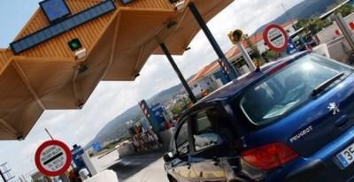 Peaje de una autopista gestionada por Abertis. E.P.