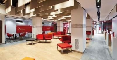 Oficina Smart Red de Banco Santander. E.P.