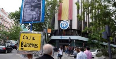 Sede del Partido Popular en la calle Génova de Madrid. EFE