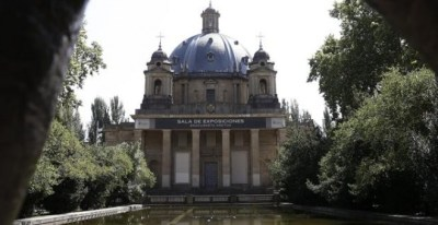 Exterior del Monumento a los Caídos de Pamplona. EFE/Archivo