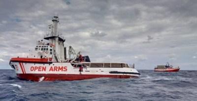 El buque español de Open Arms - Reuters