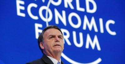 Bolsonaro, en Davos hace unos días. REUTERS/Arnd Wiegmann