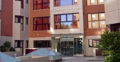 Entrada principal a la residencia de ancianos Los Nogales en Madrid. (GOOGLE MAPS)