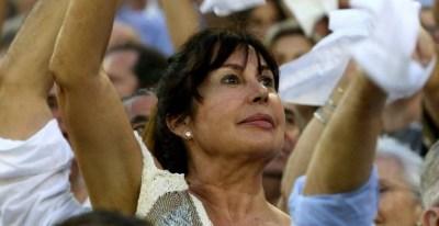Carmen Martínez Bordiú, nieta del dictador Francisco Franco. DANIEL PÉREZ / EFE