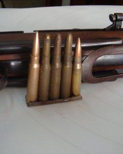 Balas del  subfusil z-45