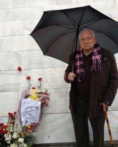 Salvador Guzmán es uno de los supervivientes de 'La Desbandá'.
