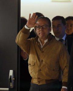 El responsable de Gürtel en la Comunidad Valenciana, Álvaro Pérez, el Bigotes, en el Congreso de los Diputados poco antes de su comparecencia ante la comisión de investigación sobre la presunta financiación ilegal del PP. EFE/Javier Lizón