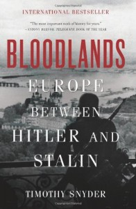 Book cover of Broodlands: Europe Between Hitler and Stalin by Timothy Snyder © Basic Books | Amazon.com