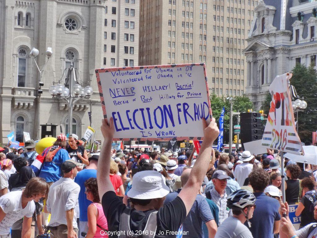 Election Fraud © Jo Freeman | 2016