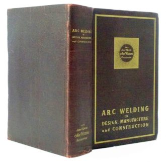 Arc Welding in Design, Manufacture and Construction Secret Hollow Book Safe