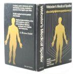 Webster's Medical Speller Secret Hollow Book Safe