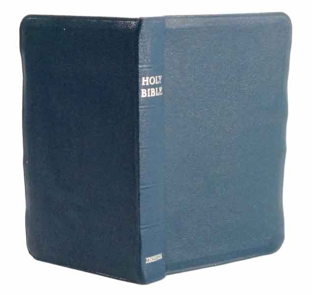 Holy Bible Blue Zondervan