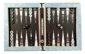 Collector's History of The Automobile Hollow Book Bookgammon Backgammon Set