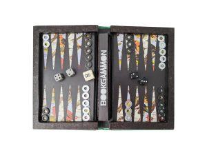 Bookgammon unique backgammon sets in book safes
