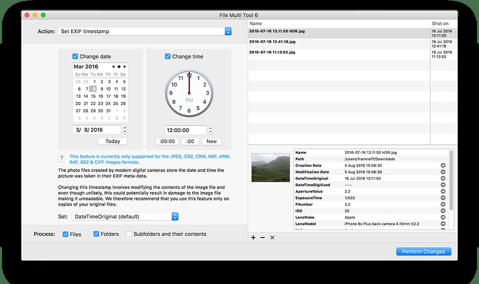 File Multi Tool 6.24 Mac 破解版 强大的文件批量操作工具