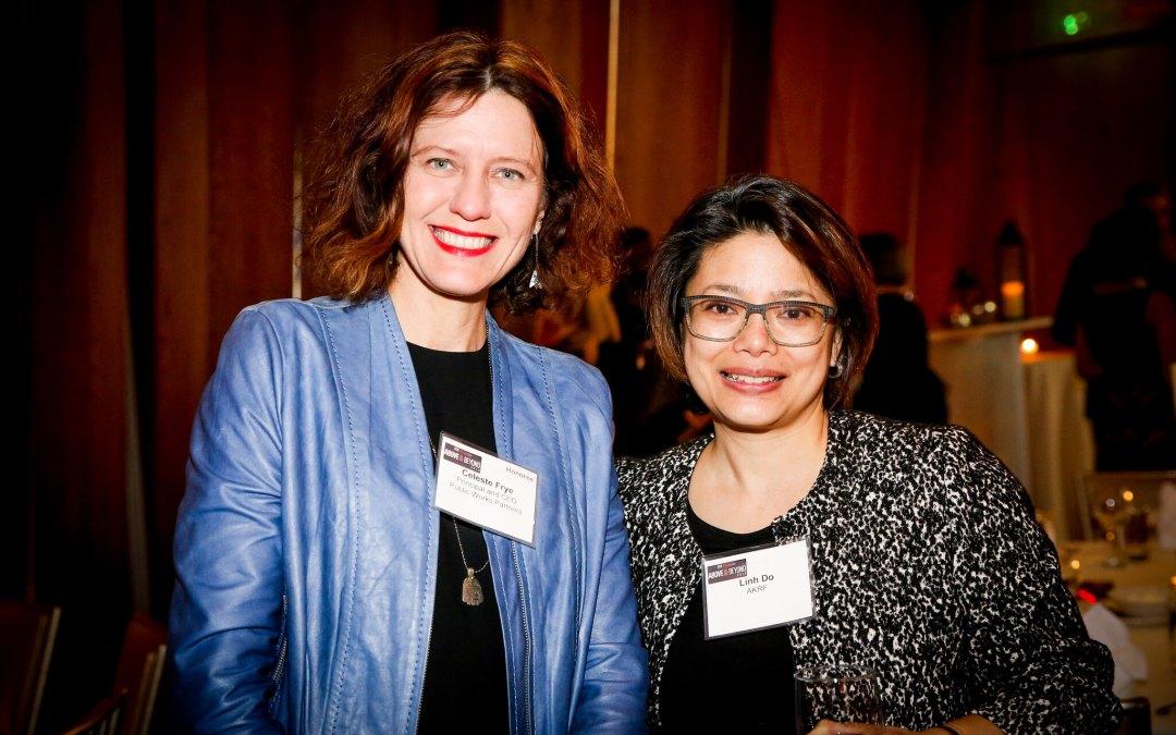 Celeste Frye with Linh Do of AKRF