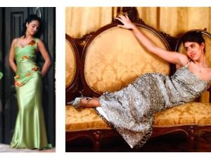 fotógrafo de vestidos de fiesta