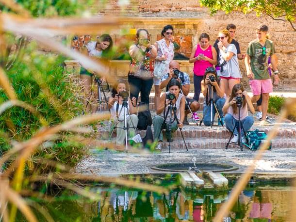 Alumnos curso fotografía Almería