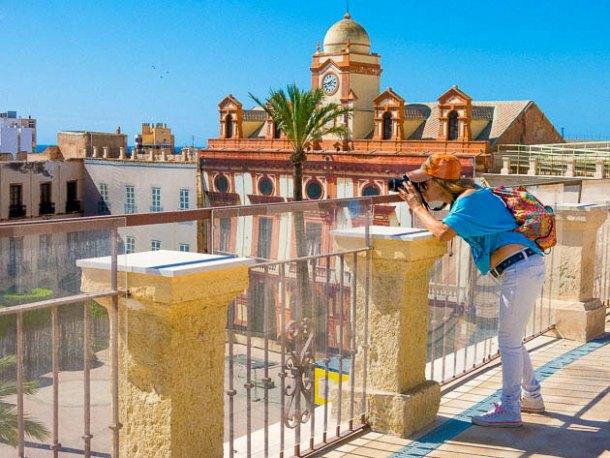 Curso fotografía Almería - Clase práctica