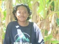 Pemuda dari komunitas Kampoeng Bola-bola, Kecamatan Sinjai Selatan, Kabupaten Sinjai, Muh Iqbal Syam.