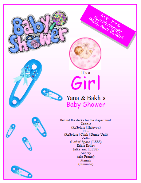 Baby Shower Flyer Template – Publisher Flyer Templates