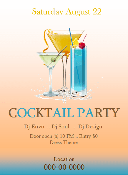cocktailflyer