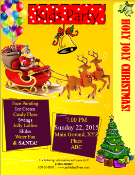 christmas kids party