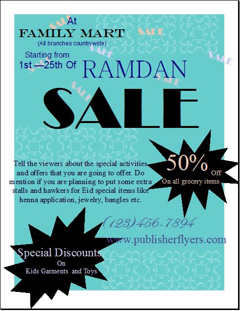ramadan sale