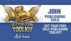 becoming a published author with self-publishing toolkit only at Publishing SOLO