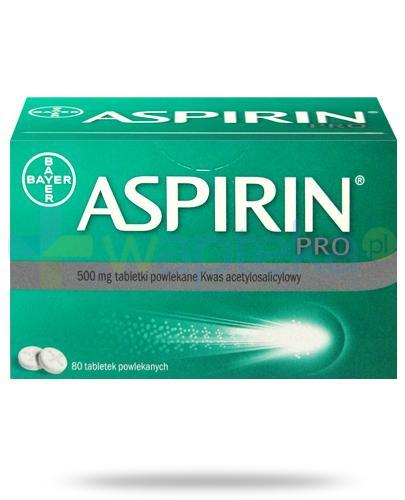 aspiryna na kaca