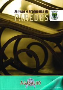 As Ruas e Freguesias de Paredes 3.ª Edição