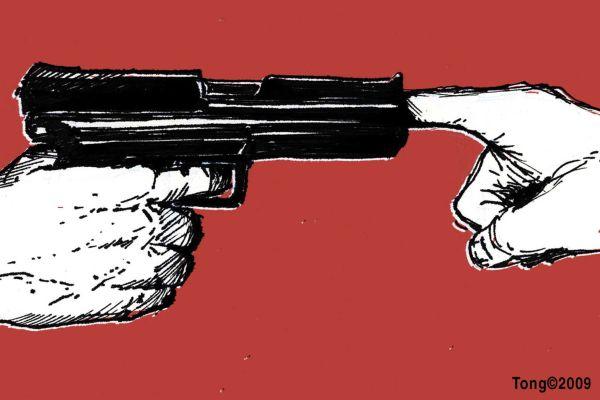 Gun-finger