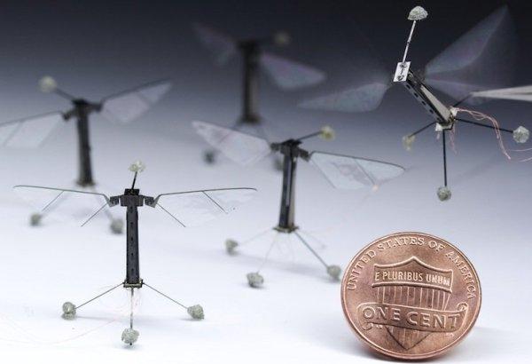 Flybot,  маленький дрон-шпион, весьма полезен при ведении разведки.